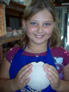 A proud potter