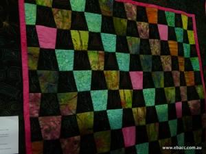 multicoloured quilt