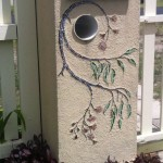 mosaic letterbox